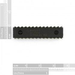 ATMega328P PU - AVR 28 Pin 20 MHz 32K 6A/D - Thumbnail