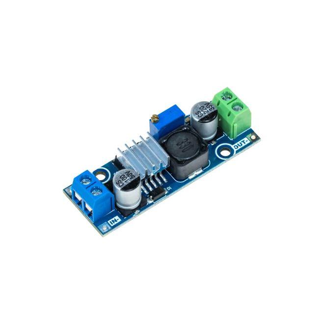 Ayarlanabilir 3 A Voltaj Düşürücü Regülatör Kartı - LM2596-ADJ