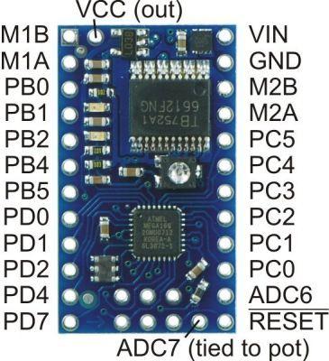 Baby Orangutan B-328 Robot Controller - PL-1220