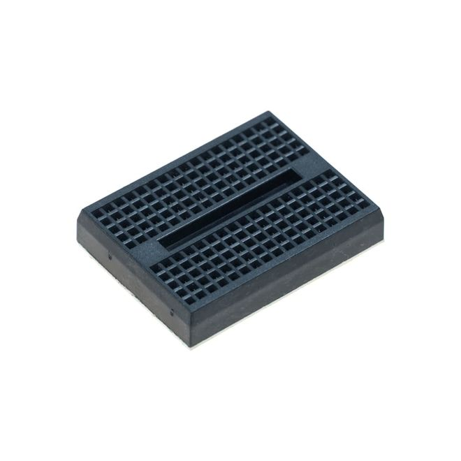 Black Mini Breadboard