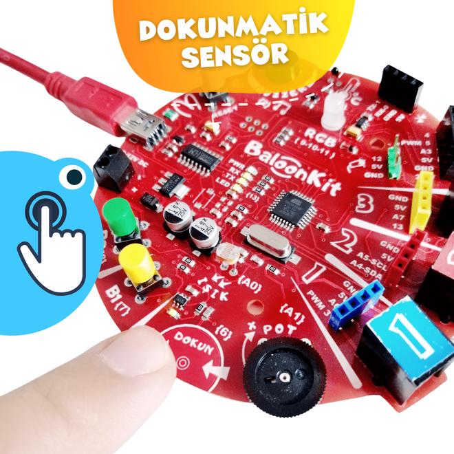 BaloonKit Robotic Kit - Blue