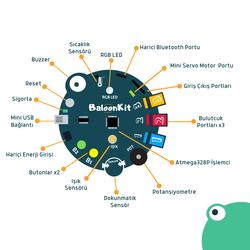 BaloonKit Robotic Kit - Blue - Thumbnail