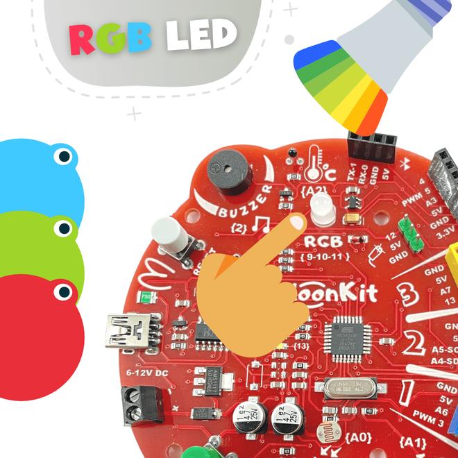 BaloonKit Robotic Kit - Red