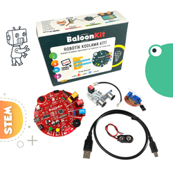MekatronikLab - BaloonKit Robotic Kit - Red