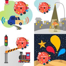 BaloonKit Robotic Kit - Red - Thumbnail