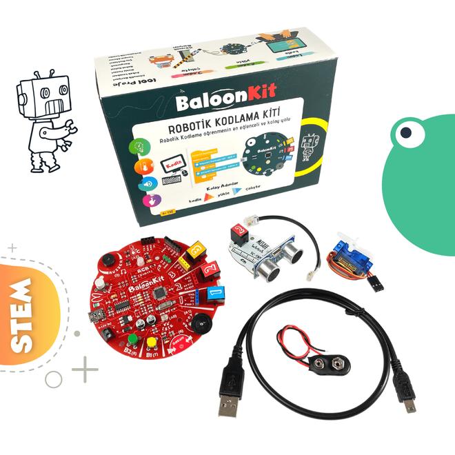 BaloonKit - Robotik Kodlama Seti Kırmızı