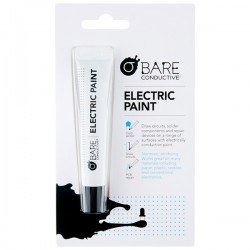 Bare Conductive - İletken Mürekkep Kalemi - Electric Paint Pen (10 ml) - Thumbnail