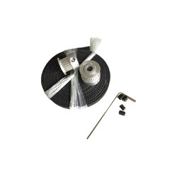 Robotistan - Belt, Hoop Set - GT2 20 Gear Hoop, GT2 6mm Belt 2mm