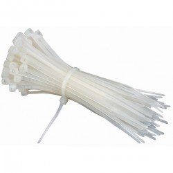 Robotistan - Big Cable Tie (Plastic Clamp) Package - 100 Piece (300mm)