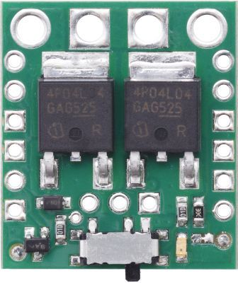 Big MOSFET Slide Switch with Reverse Voltage Protection (High Power)