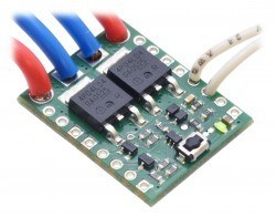 Big Pushbutton Power Switch with Reverse Voltage Protection (Middle Power) - Thumbnail