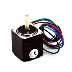Bipolar NEMA 11 200 Adım 28x32 mm 3.8 V Step Motor -PL-1205 - Thumbnail