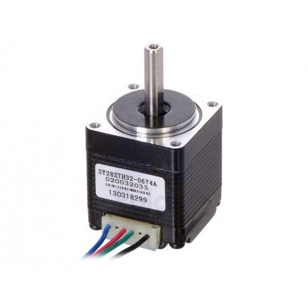 Bipolar NEMA 11 200 Adım 28x32 mm 3.8 V Step Motor -PL-1205