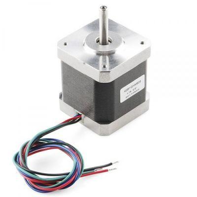 Bipolar/Unipolar NEMA 17 200 Adım 42x48 mm 4 V Step Motor - PL-1200
