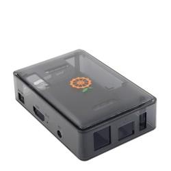 Black Transparent Case for Orange Pi PC Plus - Thumbnail