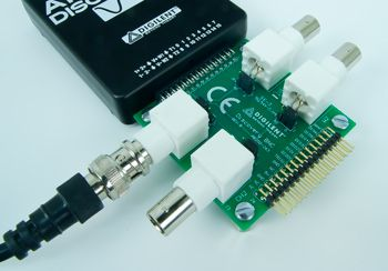 BNC Adapter Board for the Analog Discovery