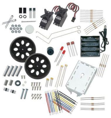 Boe-Bot Robot Kit - USB/Serial