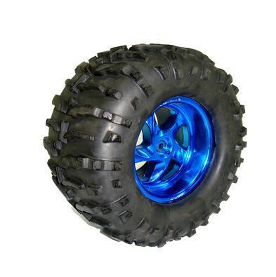 Büyük Arazi Tekerleği 125 mm x 58 mm - Mavi