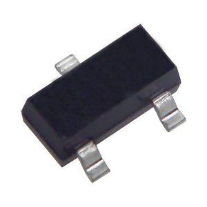 BZX84C3V6 SMD zener diyot (SOT23) - 25 adet