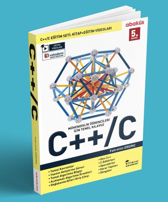 C / C++ Kitabı (Video Eğitim Seti Hediyeli - 5. Baskı) - Fahrettin Erdinç