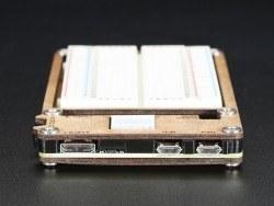 C4Labs Zebra Plus Raspberry Pi Zero Case with Breadboard - Thumbnail