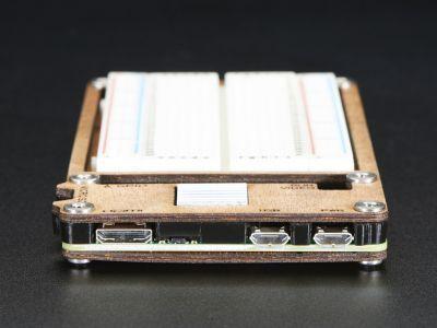 C4Labs Zebra Plus Raspberry Pi Zero Case with Breadboard