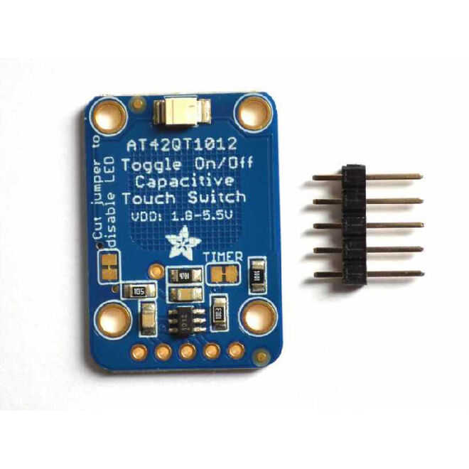 Capacitive Touch Toggle Button Board- AT42QT1012
