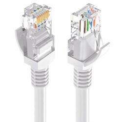 CAT5 Ethernet Kablosu - 1 M - Gri - Thumbnail