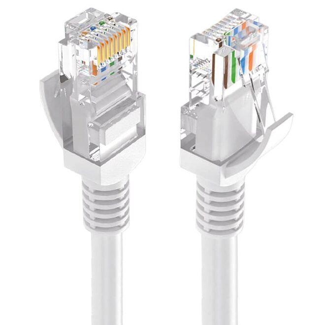 CAT5 Ethernet Kablosu - 1 M - Gri