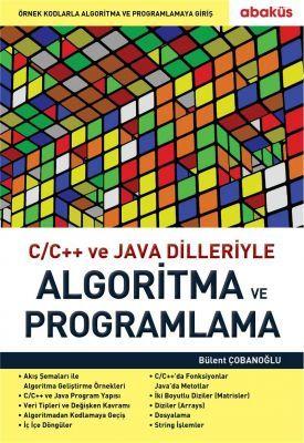 C/C++ Ve Java Dilleriyle Algoritma ve Programlama - Bülent Çobanoğlu
