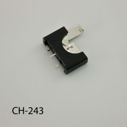 CH2032 Coin Cell Holder - 5.7x23.3x20.6mm - Thumbnail