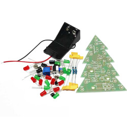 Robotistan - Christmas Flash LED Electronic DIY Learning Kit
