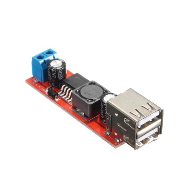 Çift USB Çıkışlı 5V 3A Regülatör
