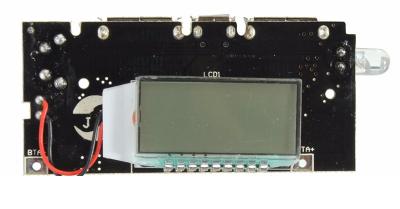 Çift USB Çıkışlı, Ekranlı Power Bank Kartı