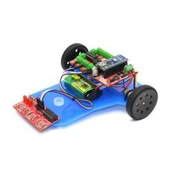 Çizgi İzleyen Robot Kiti - Çigor (Demonte) - Thumbnail