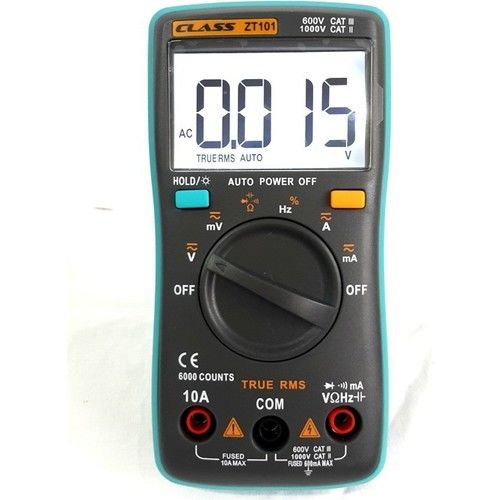 Class TrueRMS Dijital Multimetre ZT-101