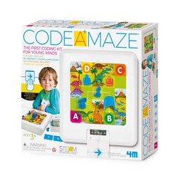 Imagine Station - Code A Maze 3+ Yaş Basitleştirilmiş Robotik Kodlama Seti