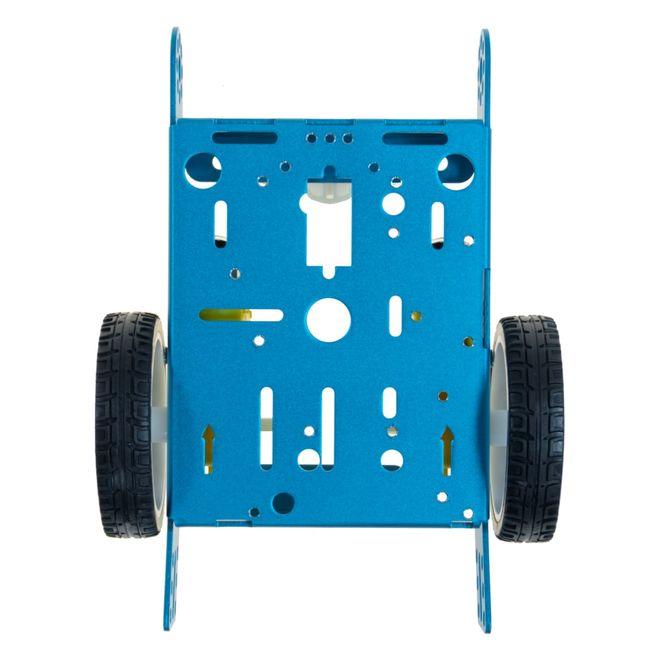 Çok Amaçlı Alüminyum 2WD Robot Gövdesi - Mavi