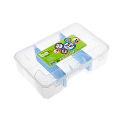 Asrın Plastik - Çok Amaçlı Bölmeli Malzeme Kutusu - Şeffaf ASR-5018