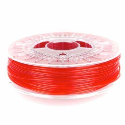 colorFabb PLA - Şeffaf Kırmızı, 2.85 mm
