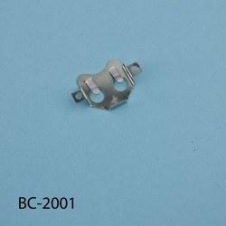CR-2032 Coin Cell Holder - 31x20x3.8mm - Thumbnail