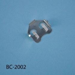 Proje Kutusu - CR-2032 için Pil Tutucu - 21.2x19.6x2.42mm