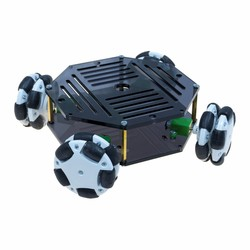 Robotistan - Cruise Mini Robot Platform with Omni Wheel
