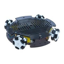Robotistan - Cruise Robot Platform with Omni Wheel (with Electronics)