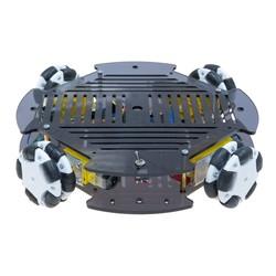 Cruise Robot Platform with Omni Wheel (with Electronics) - Thumbnail
