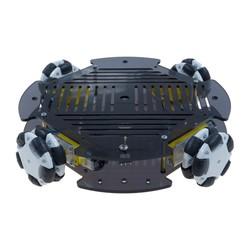 Cruise Robot Platform with Omni Wheel (without Electronics) - Thumbnail