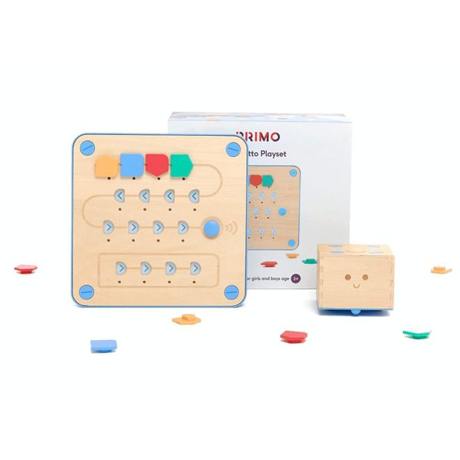 CUBETTO: Wooden Coding Robot for Children