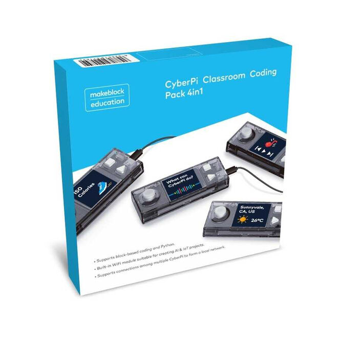 CyberPi Classroom Coding Pack (4 in 1)