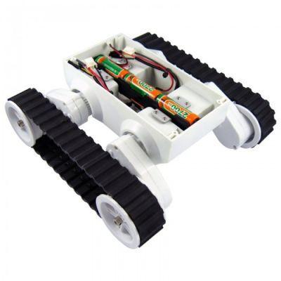 Dagu Rover5 2 Motorlu Paletli Mobil Robot Platformu - Enkoderli - PL-1551