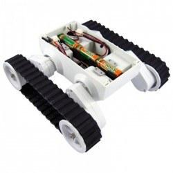 Dagu - Dagu Rover5 2 Motorlu Paletli Mobil Robot Platformu (Enkodersiz) - PL-1550